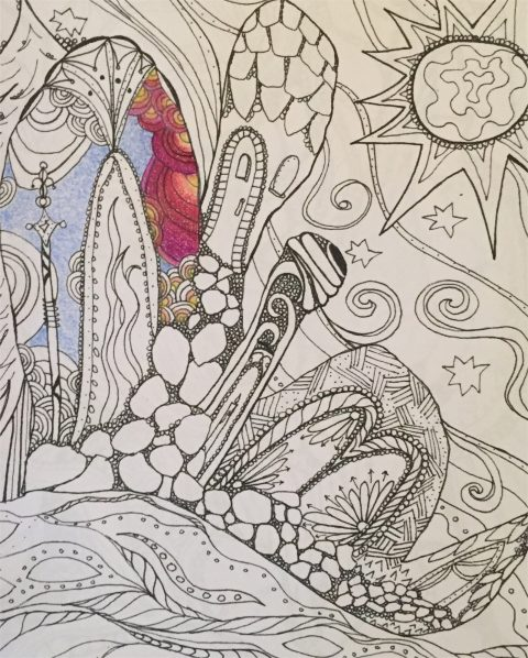 5 Steps Of Coloring Book Inspiration